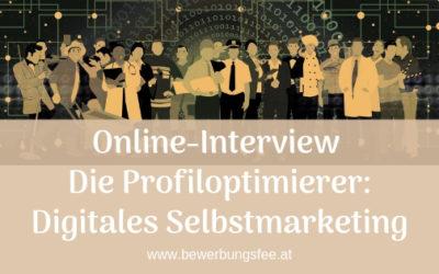 Die Profiloptimierer: Hilfe für digitales Selbstmarketing in beruflichen Netzwerken