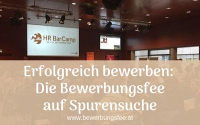 Erfolgreich bewerben: Die Bewerbungsfee am HR Barcamp 2019 in Wien